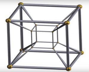 Cubo cuatro dimensiones